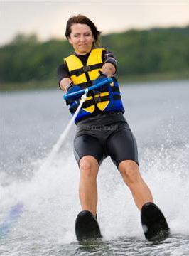 Vodní adrenalin na vodních lyžích